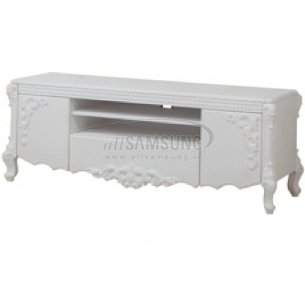 میز تلویزیون سامسونگ مدل R718 سفید صحرایی Tv Stand R718 Desert White