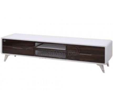میز تلویزیون سامسونگ مدل R740 سفید هایگلاس ترک Tv Stand R740 White High Gloss