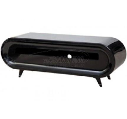 میز منحنی تلویزیون سامسونگ مدل R810 مشکی های گلاس Tv Stand R810 Black High Gloss Curve