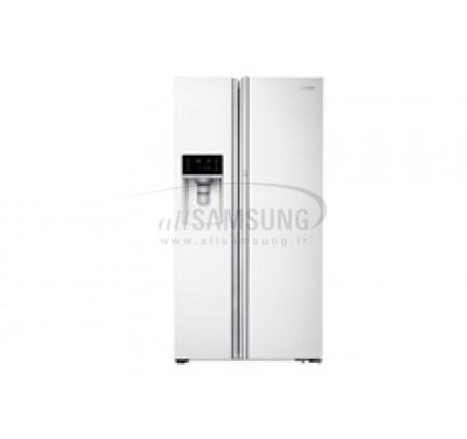 یخچال فریزر ساید بای ساید سامسونگ 34 فوت اف اس آر سفید Samsung Side By Side FSR White