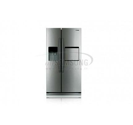 یخچال فریزر ساید بای ساید سامسونگ 23 فوت آر اس 23 کا نقره ای Samsung Side By Side RS23K Silver