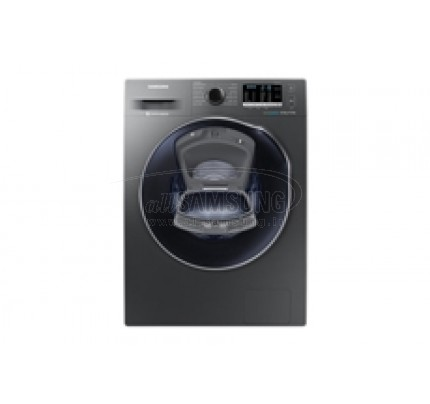 ماشین لباسشویی و خشک کن سامسونگ 8 کیلویی گیربکسی اینوکس Samsung Washing Machine Dryer 8kg Q1479 Inox