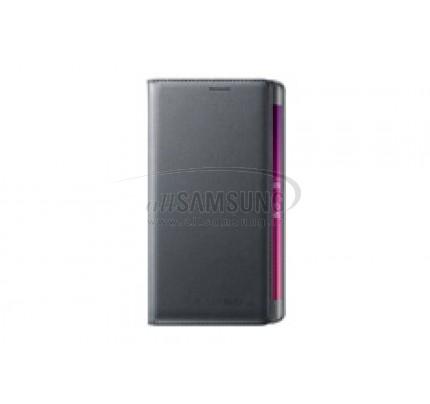گلکسی نوت اج سامسونگ ولت کاور مشکی Samsung Galaxy Note Edge Wallet Cover Black
