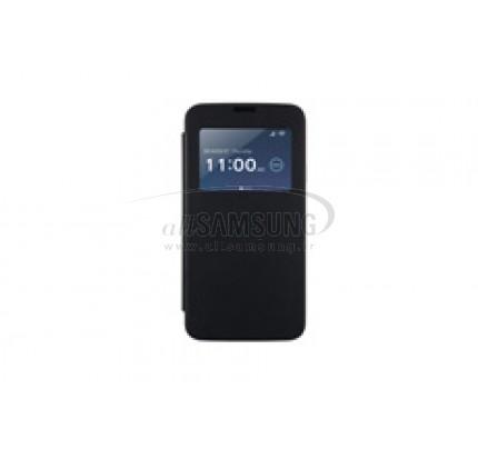 گلکسی اس 5 سامسونگ ویو فلیپ کاور انی مد مشکی Samsung Galaxy S5 View Flip cover AnyMode Black