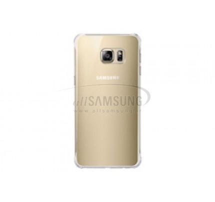 گلکسی اس 6 اج پلاس سامسونگ گلاسی کاور طلایی Samsung Galaxy S6 edge+ Plus Glossy Cover Gold