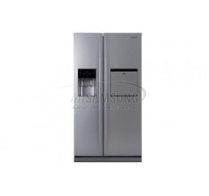 یخچال فریزر ساید بای ساید سامسونگ 23 فوت آر اس 223 نقره ای Samsung Side By Side RS223 Silver