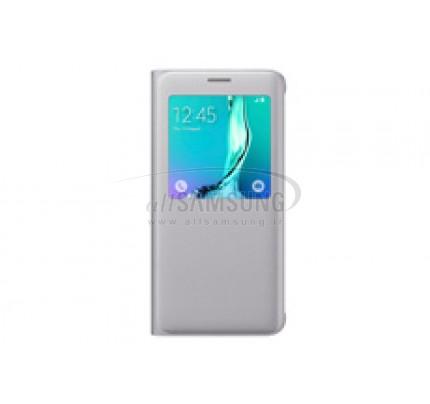 گلکسی اس 6 اج پلاس سامسونگ اس ویو کاور نقره ای Samsung Galaxy S6 edge+ Plus S View Cover Silver