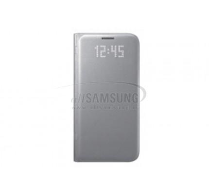 گلکسی اس 7 سامسونگ ال ای دی ویو کاور نقره ای Samsung Galaxy S7 LED View Cover Silver