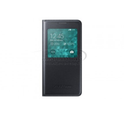 گلکسی آلفا سامسونگ اس ویو کاور مشکی Samsung Galaxy ALPHA S View Cover Black