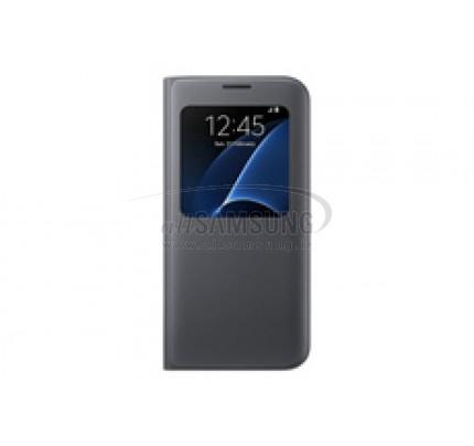 گلکسی اس 7 اج سامسونگ اس ویو کاور مشکی Samsung Galaxy S7 edge S View Cover Black
