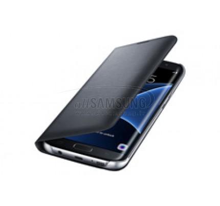 گلکسی اس 7 اج سامسونگ ال ای دی ویو کاور مشکی Samsung Galaxy S7 edge LED View Cover Black