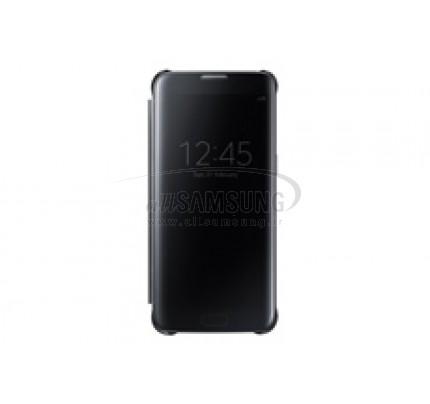 گلکسی اس 7 اج سامسونگ کلیر ویو کاور مشکی Samsung Galaxy S7 edge Clear View Cover Black