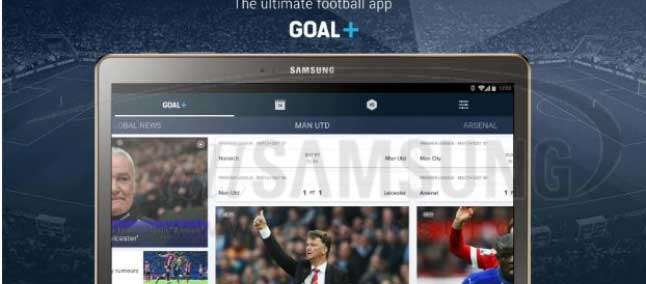 اپلیکیشن Goal+ سامسونگ