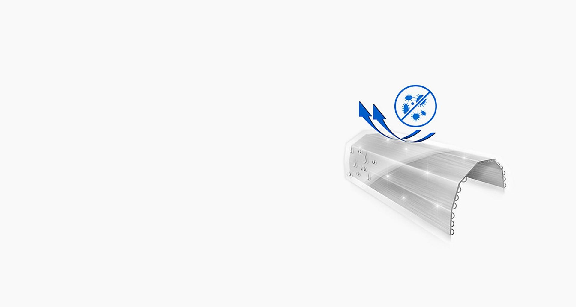 تهویه هوا S-Inverter با قابلیت تمیز کنندگی خودکار