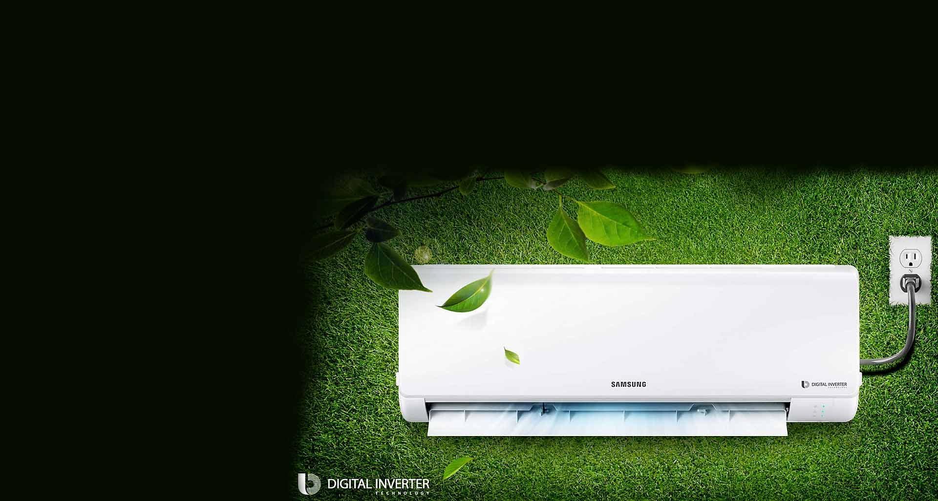 صرفه جویی در انرژی به صورت هوشمند با بهترین کولر گازی برای مناطق گرمسیر سامسونگ