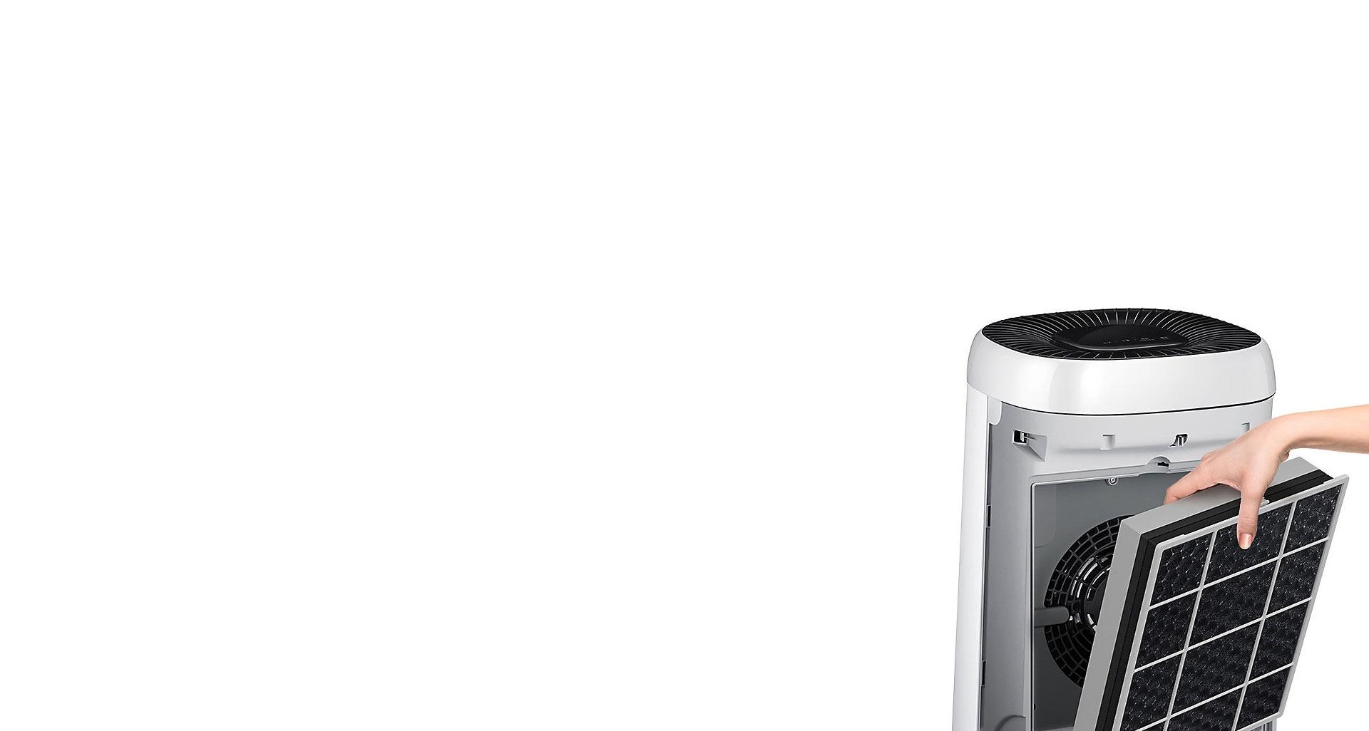 تمیزی راحت فیلترهای تصفیه هوای G35