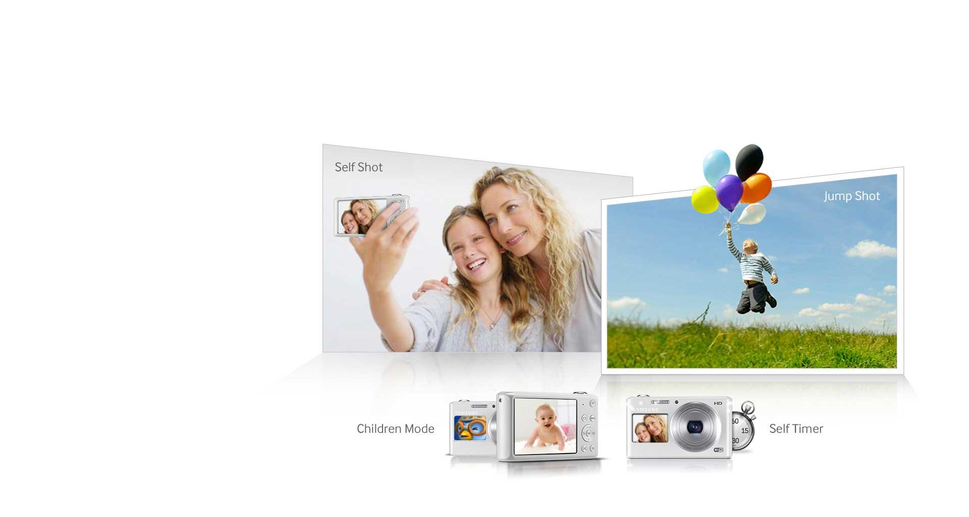 دوربین دیجیتال سامسونگ هوشمند سری DV سفید DV-150F