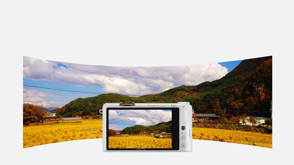 دوربین دیجیتال سامسونگ هوشمند سری NX سفید NX-2000