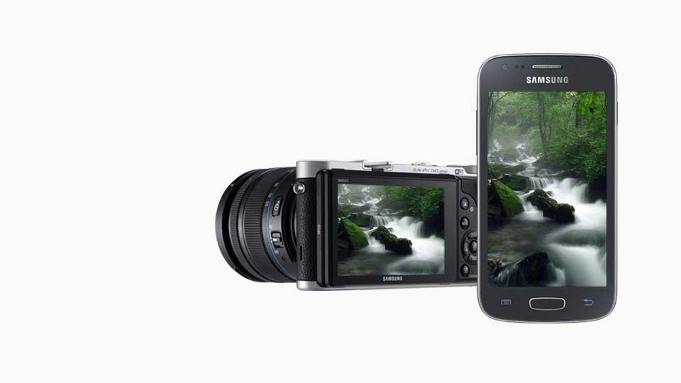دوربین دیجیتال سامسونگ هوشمند سری NX قهوه ای Samsung Smart Camera NX-300 Brown
