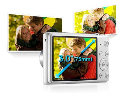 دوربین دیجیتال سامسونگ هوشمند سری ST مشکی ST-150F
