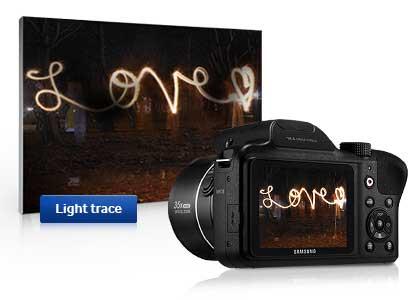 دوربین دیجیتال سامسونگ هوشمند سری WB مشکی WB-1100F
