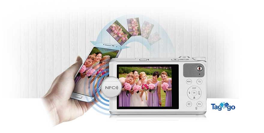 دوربین دیجیتال سامسونگ هوشمند سری WB مشکی WB-350F