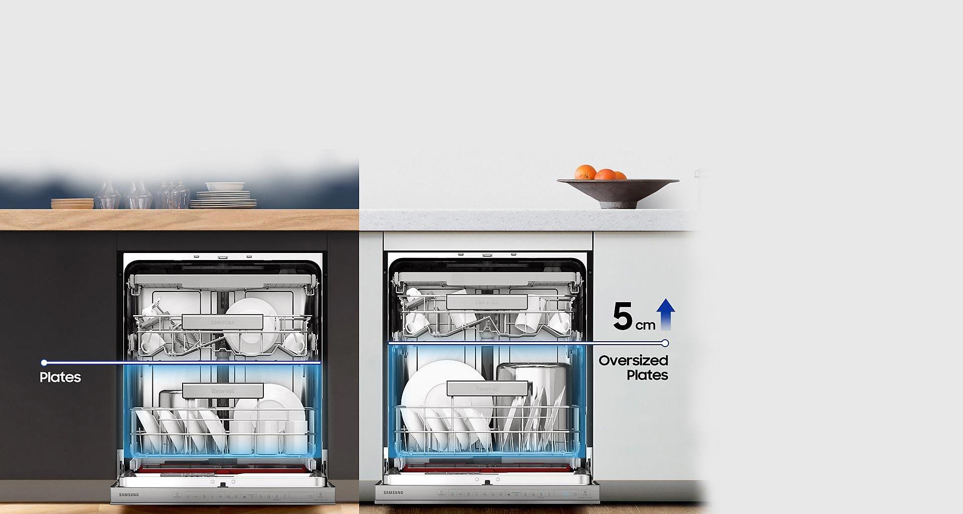 ماشین ظرفشویی D164 با سیستم Easy Load