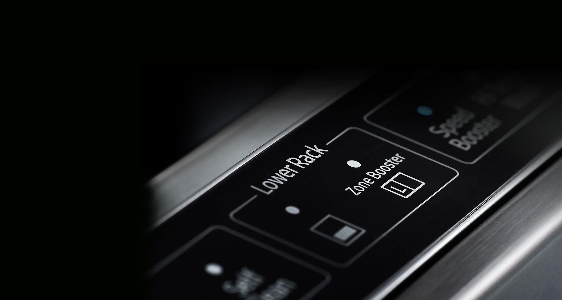 فناوری Zone Booster در ماشین ظرفشویی D164 سامسونگ
