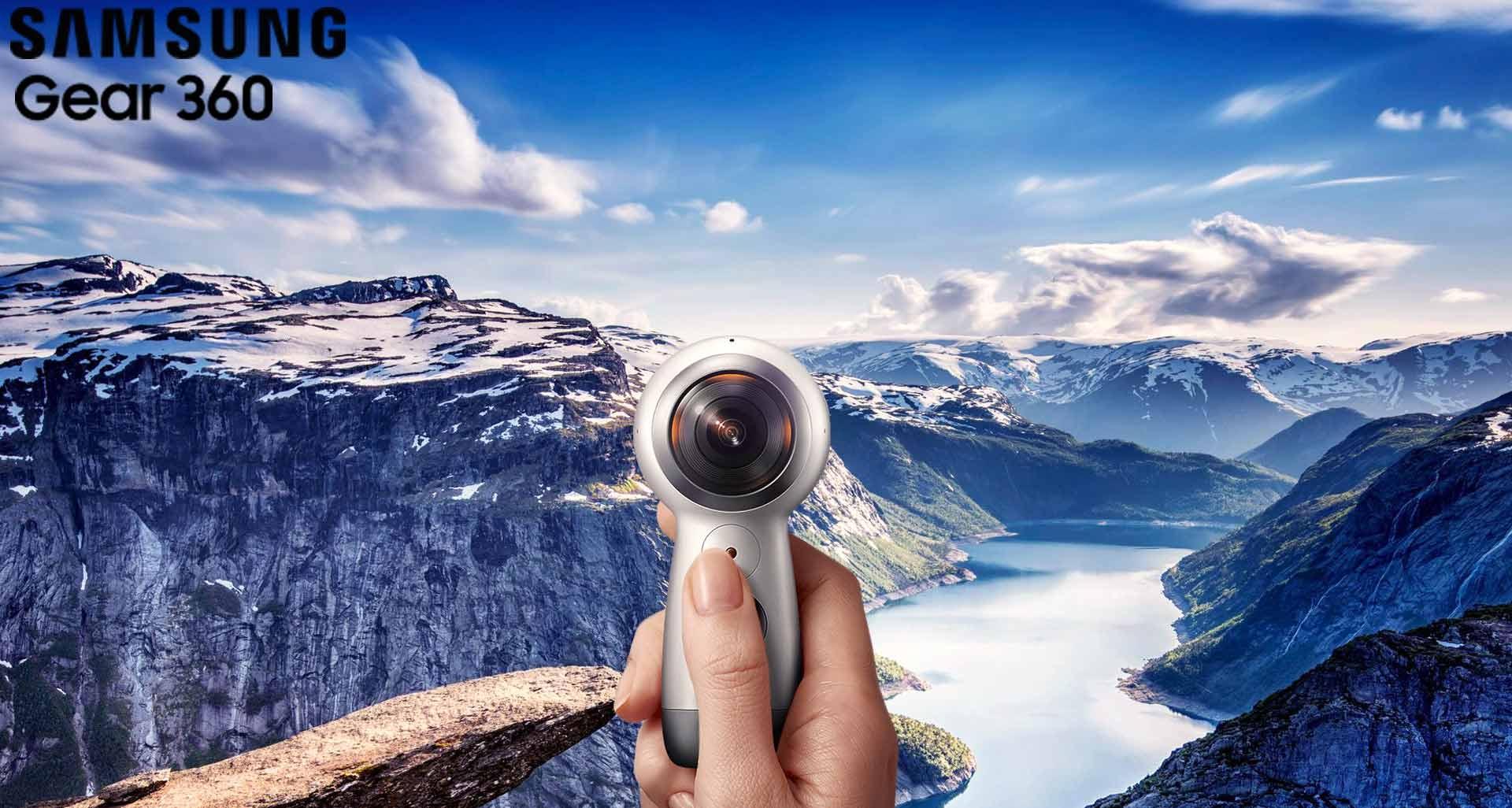 آشنایی با دوربین خارق العاده سامسونگ، گیر 360