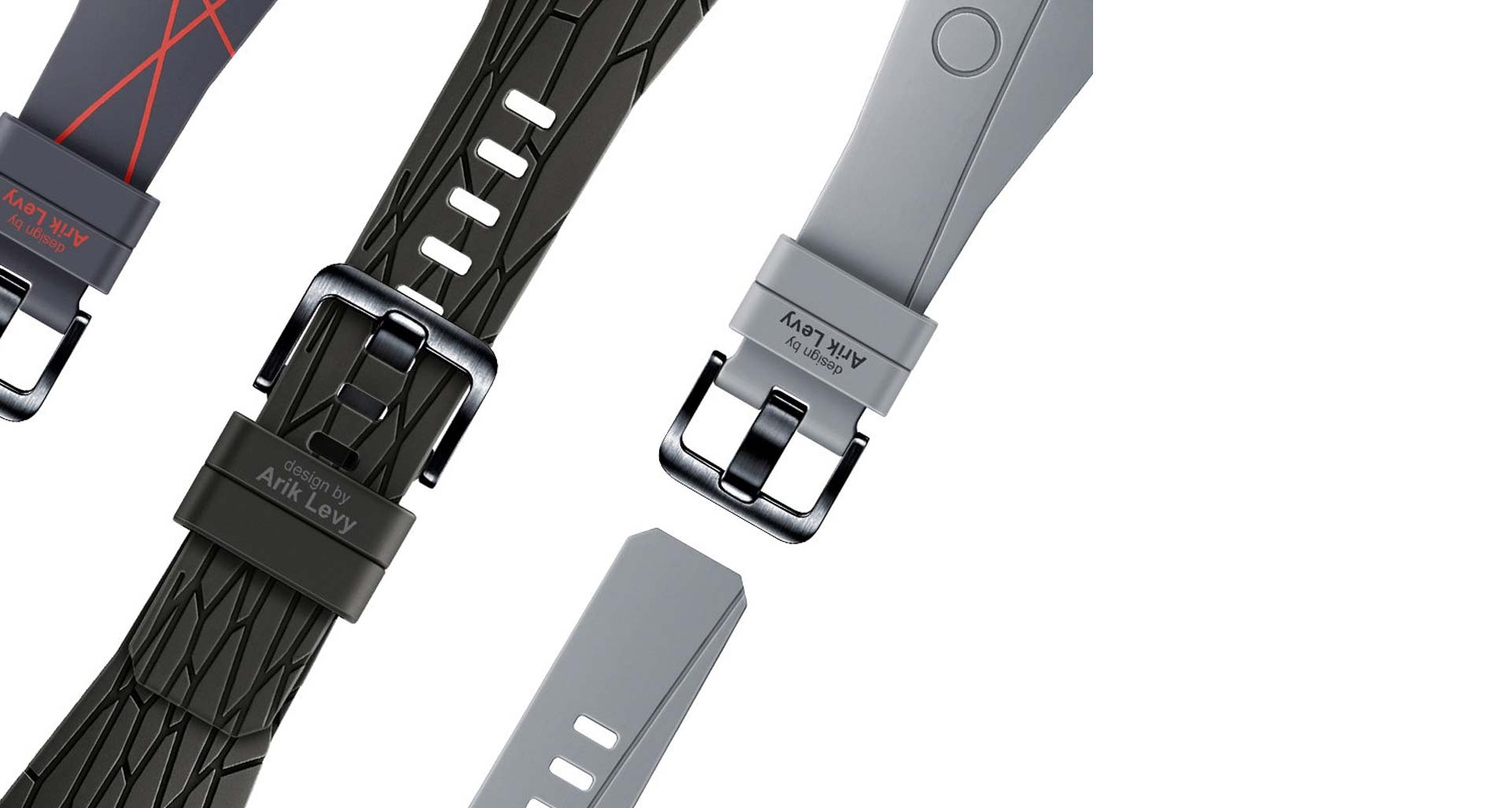 بند ساعت گیر اس 3 طراحی شده توسط آریک لوی