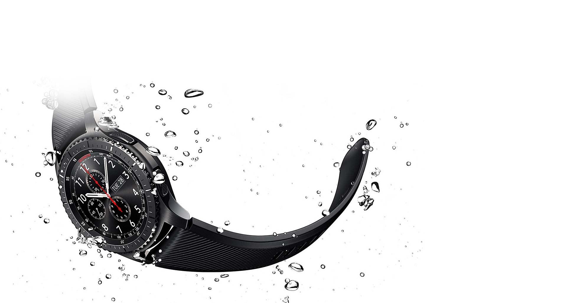 مقاومت بی نظیر بند سیلیکونی ساعت هوشمند Gear S3 سامسونگ