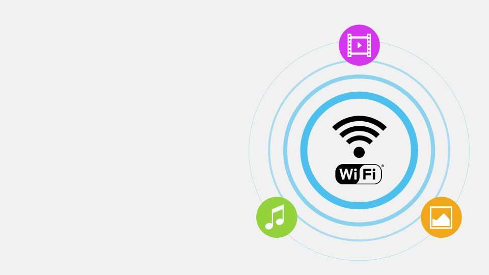 دسترسی بیسیم به اینترنت و سایر سرگرمی ها