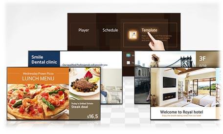 مدیریت آسان از طریق صفحه اصلی، ابزار و قالب های متنوع