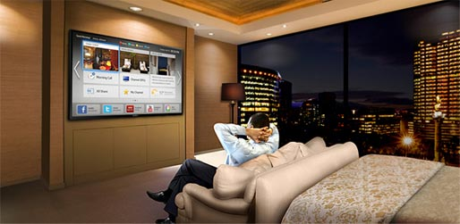تلویزیون هوشمند هتلی 48 اینچ سامسونگ
