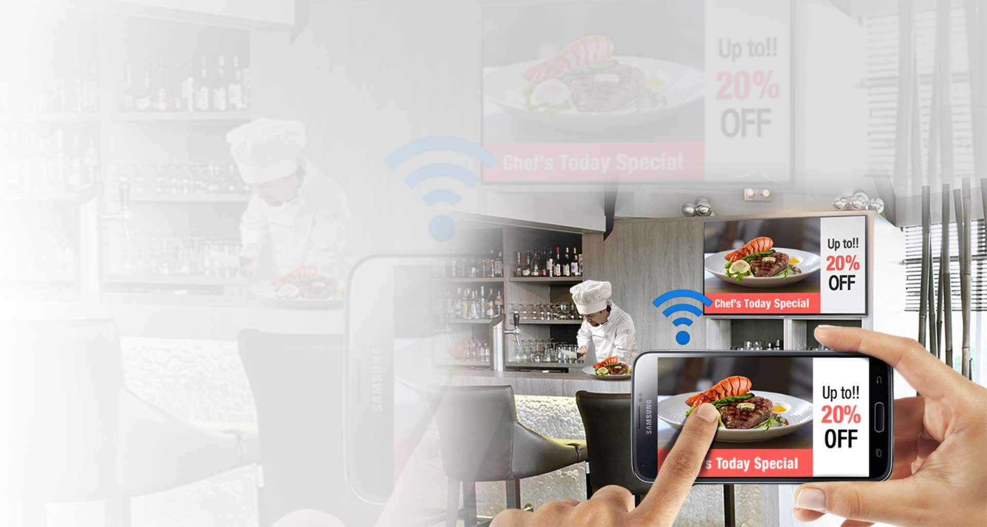 samsung 2 RMD - تلویزیون هوشمند ساینیج 48 اینچ سامسونگ Samsung Smart Signage TV RM48D