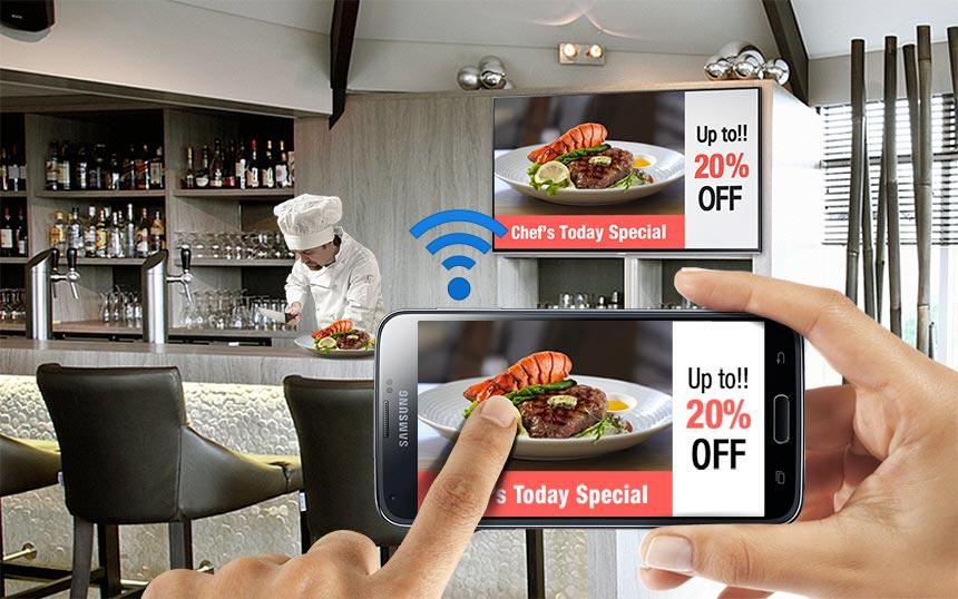 تلویزیون هوشمند ساینیج سامسونگ RM40D