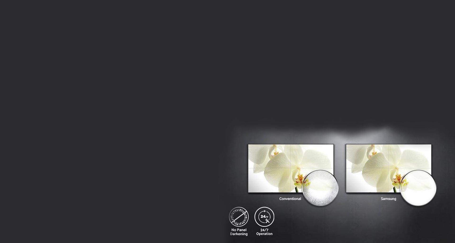 ویدئو وال های UHF5 با بالاترین کیفیت پنل