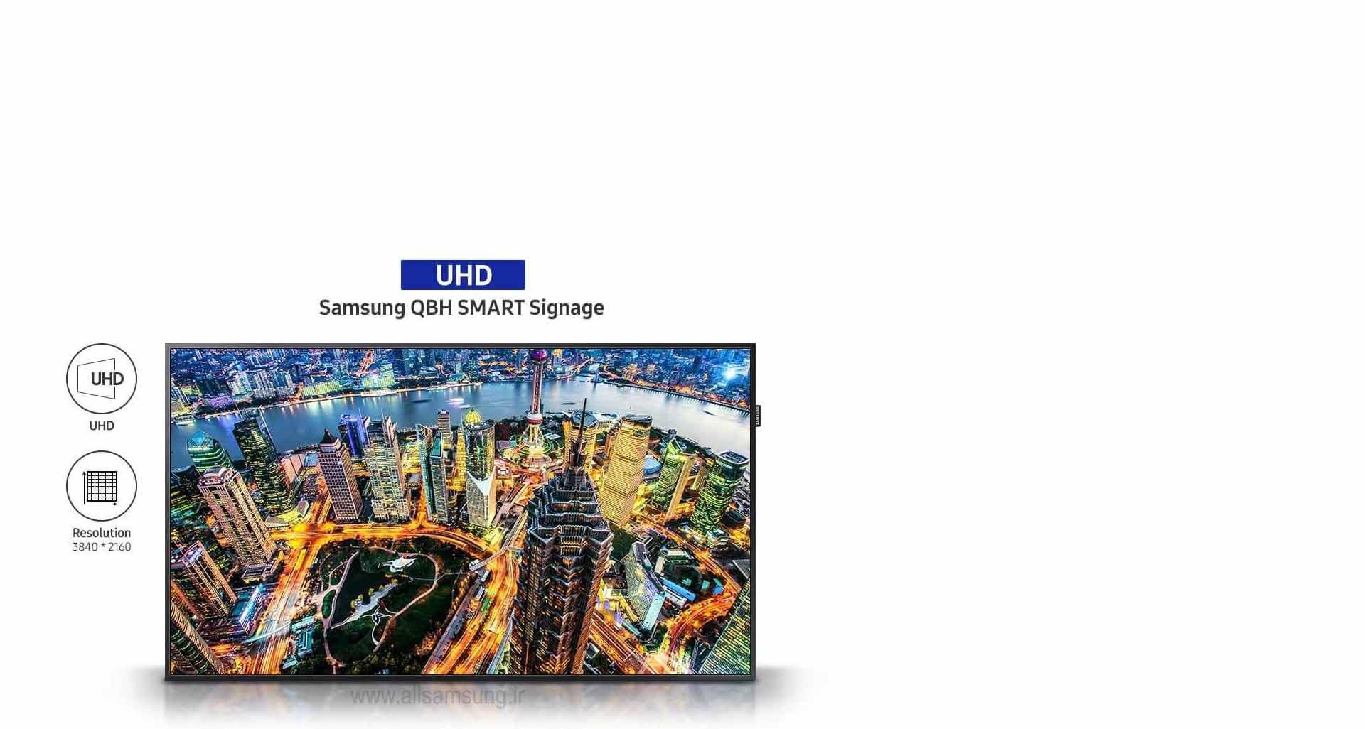 کیفیت تصویر UHD و ایجاد روحی تازه برای محتوای تجاری شما