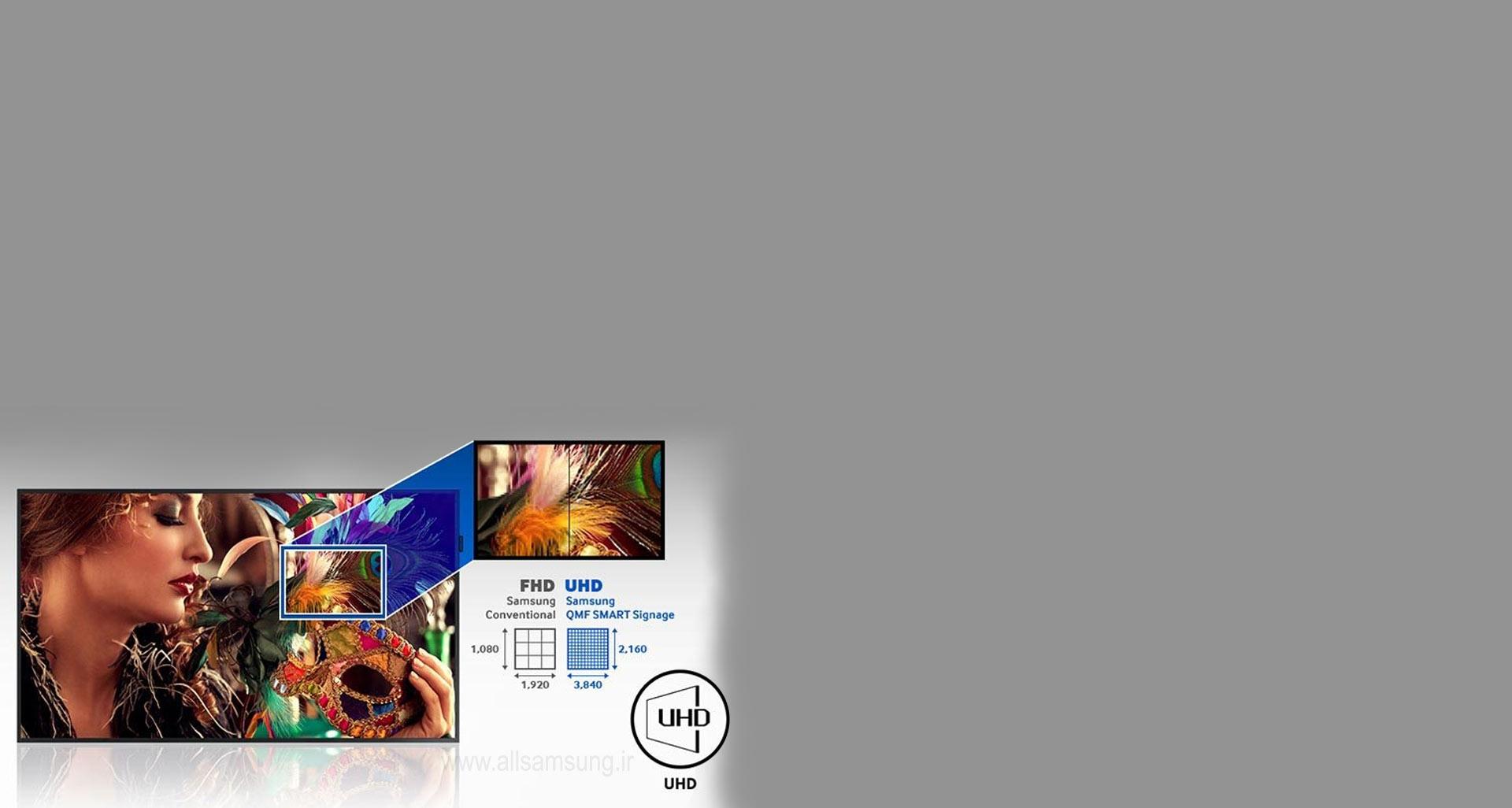 جذب مشتریان و ارتقای ماهیت برند با کیفیت UHD تصاویر و عکس ها