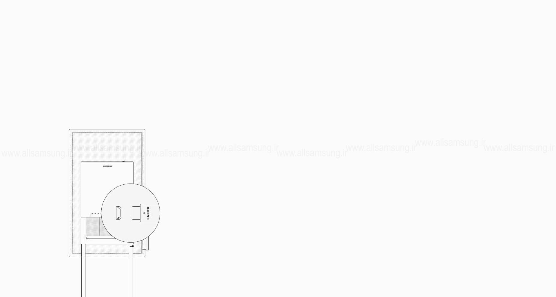نمایشگر دیجیتال WM55H سامسونگ با امکان برقراری اتصال با دستگاههای مختلف
