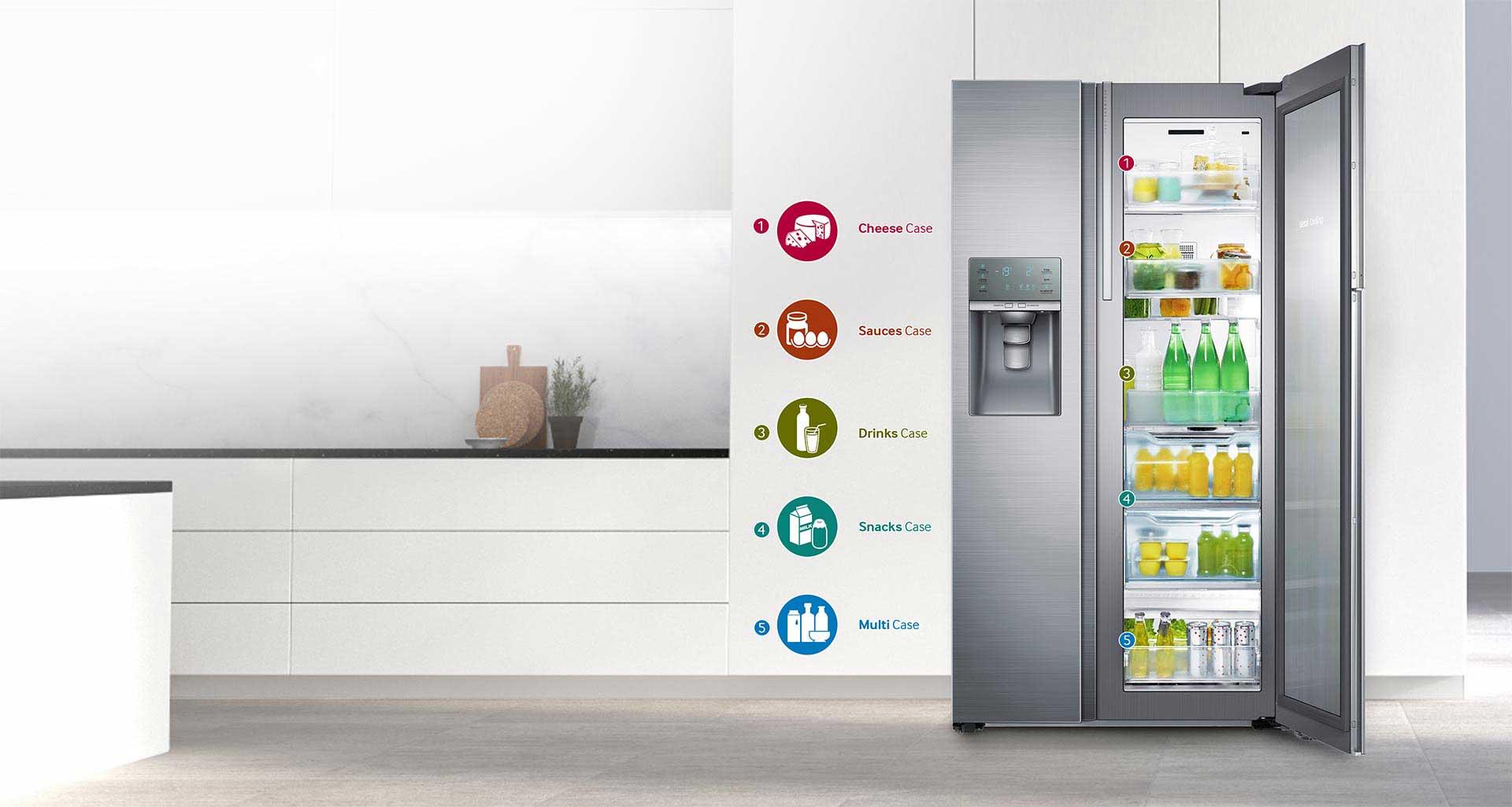 دسترسی آسان به مواد غذایی مورد علاقه