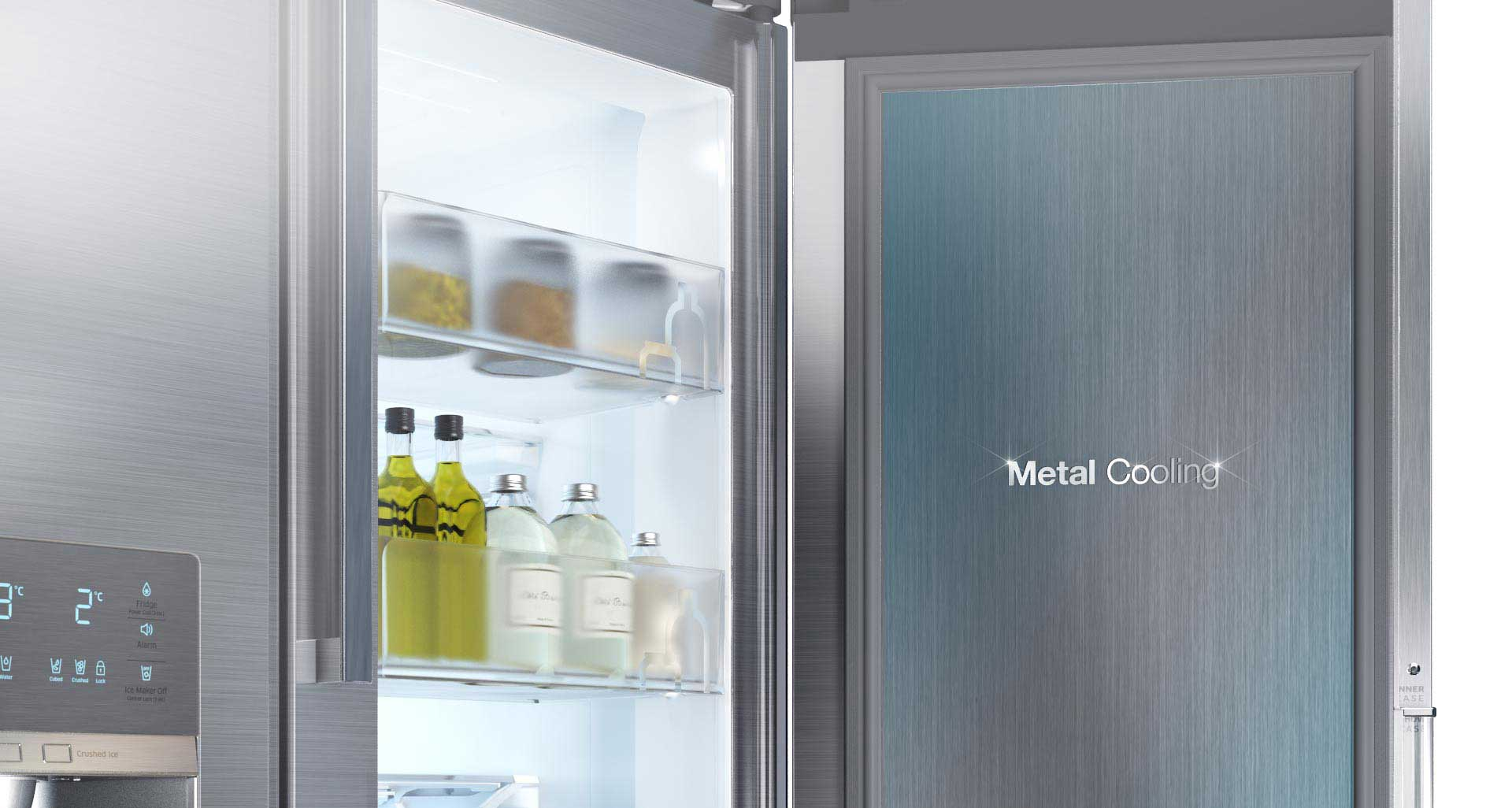 حفظ هوای خنک با سیستم سرمایشی فلزی