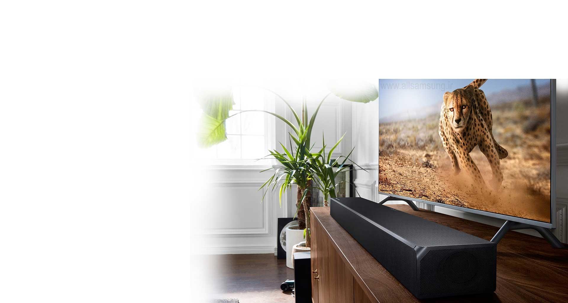 ساندبار N950 سازگار با تلویزیون های سامسونگ