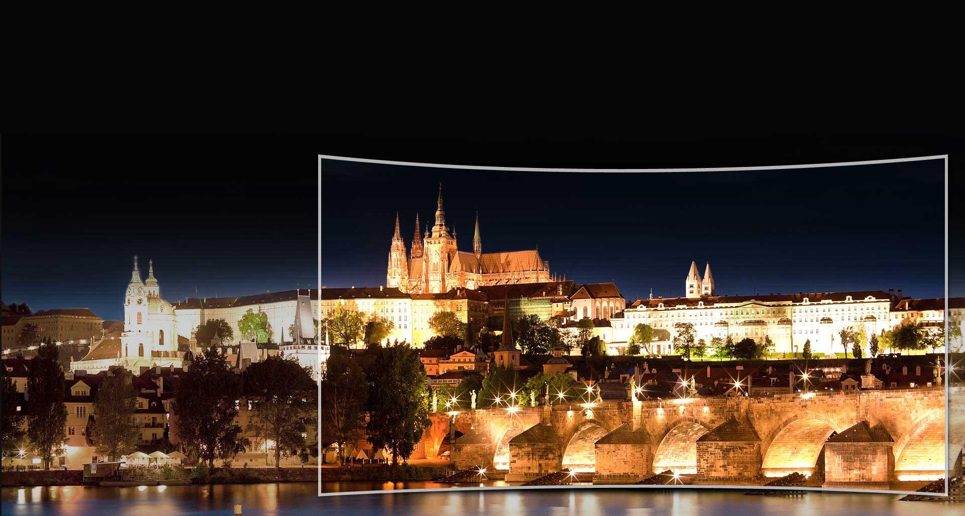 تلویزیون ال ای دی منحنی سامسونگ 65 اینچ سری 10 نانو کریستال اسمارت JSC10000
