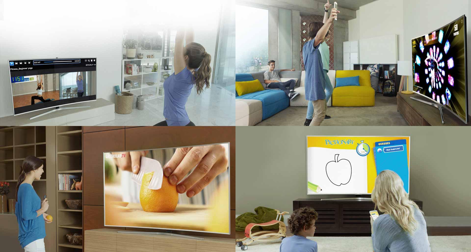 تلویزیون ال ای دی 55 اینچ سری 8 نانو کریستال اسمارت سامسونگ