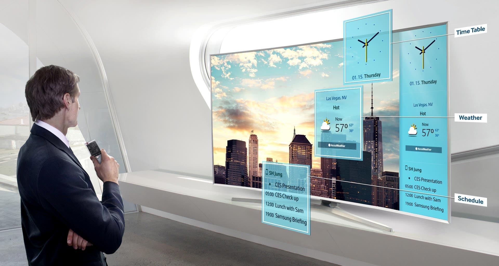 تلویزیون ال ای دی سامسونگ 55 اینچ سری 8 نانو کریستال اسمارت