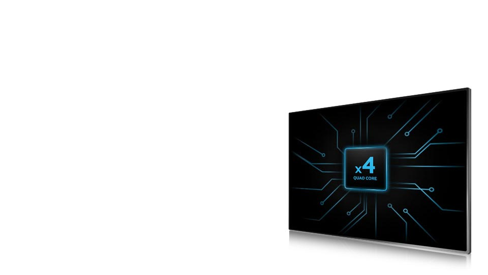 تلویزیون ال ای دی منحنی 40 اینچ سری 7 اسمارت سامسونگ