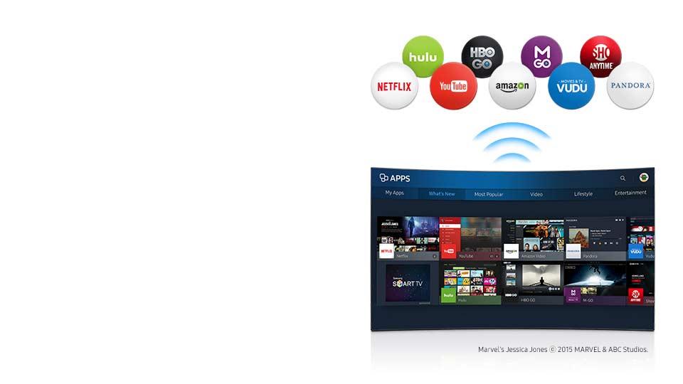 تلویزیون ال ای دی سامسونگ 49 اینچ سری 6 اسمارت K6960
