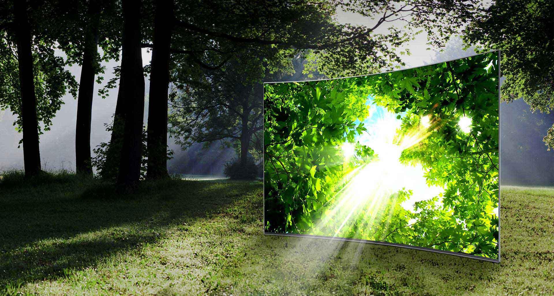 تلویزیون ال ای دی منحنی سامسونگ 55 اینچ سری 9 اسمارت