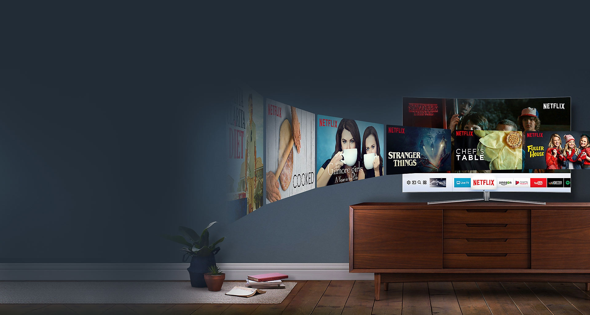 ال ای دی 55Q78C، هوشمندترین تلویزیون جهان